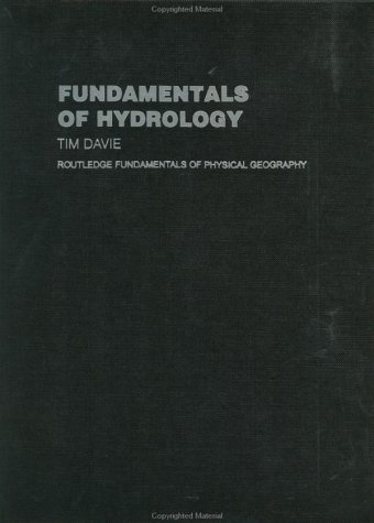9780415220286: Fundamentals of Hydrology (Routledge Fundamentals of Physical Geography)