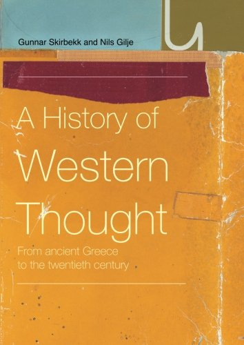 9780415220736: A History of Western Thought: From Ancient Greece to the Twentieth Century