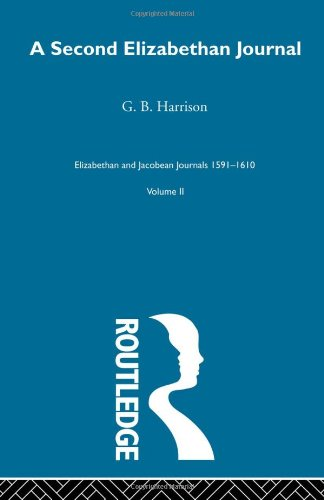 9780415221450: A Second Elizabethan Journl V2 (Volume 2)