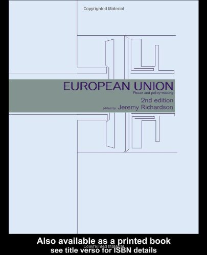 9780415221658: European Union: Power and Policy-Making (Routledge Research in European Public Policy)