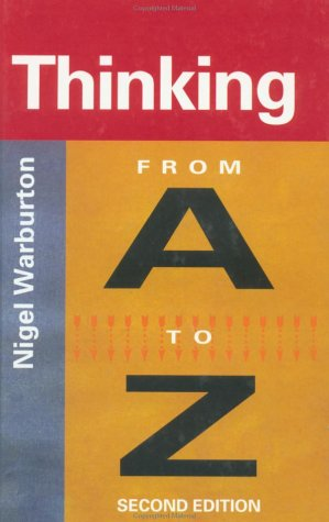 9780415222808: Thinking From A to Z