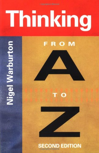 9780415222815: Thinking From A to Z