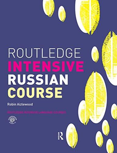 9780415223003: Routledge Intensive Russian Course (Routledge Intensive Language Courses)