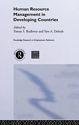 9780415223331: Human Resource Management in Developing Countries (Routledge Research in Employment Relations)