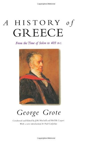 9780415223690: A History of Greece: From the Time of Solon to 403 BC