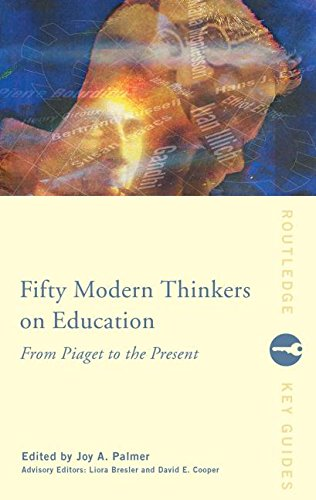 9780415224086: Fifty Modern Thinkers on Education: From Piaget to the Present Day (Routledge Key Guides)