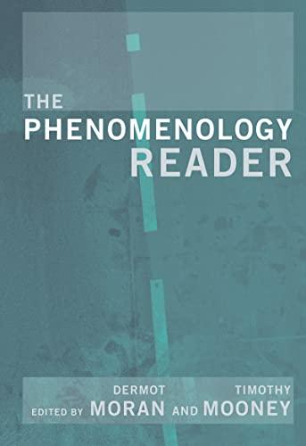 9780415224215: The Phenomenology Reader