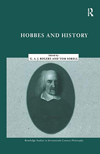 9780415224444: Hobbes and History (Routledge Studies in Seventeenth Century Philosophy)