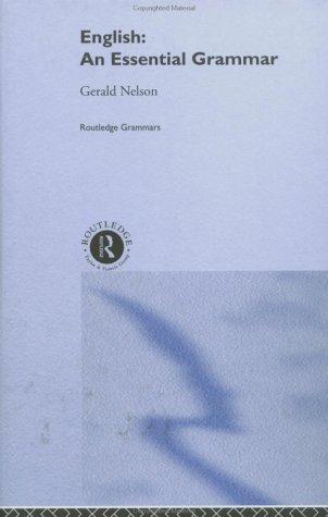 9780415224499: English: An Essential Grammar (Routledge Essential Grammars)