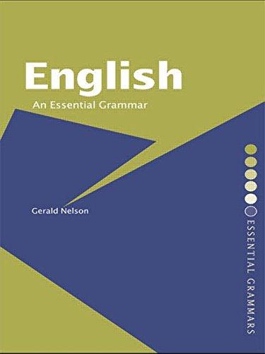 9780415224505: English: An Essential Grammar (Routledge Essential Grammars)