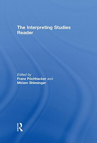 9780415224772: The Interpreting Studies Reader (Routledge Language Readers)