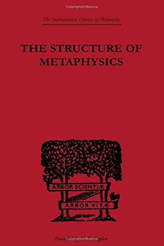 9780415225267: The Structure of Metaphysics (International Library of Philosophy) (Volume 53)