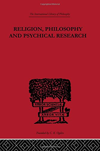 9780415225588: Religion, Philosophy and Psychical Research: Selected Essays (International Library of Philosophy) (Volume 48)