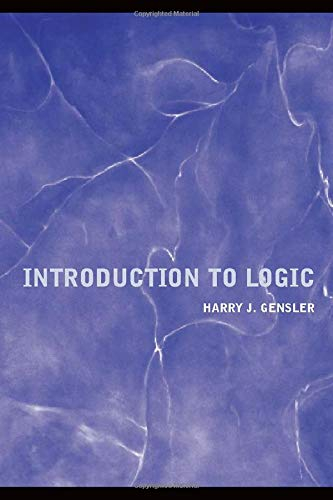 Introduction to Logic: Harry Gensler