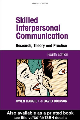 9780415227209: Skilled Interpersonal Communication: Research, Theory and Practice
