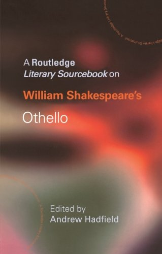 9780415227346: William Shakespeare's Othello: A Routledge Study Guide and Sourcebook (Routledge Guides to Literature)
