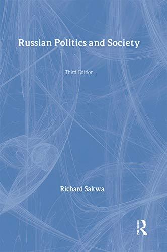 9780415227520: Russian Politics and Society