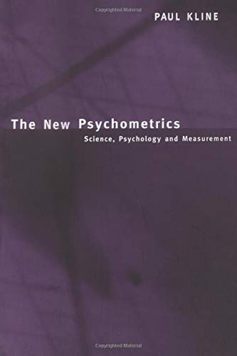 9780415228213: The New Psychometrics: Science, Psychology and Measurement