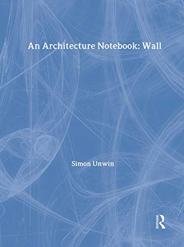 9780415228732: An Architecture Notebook