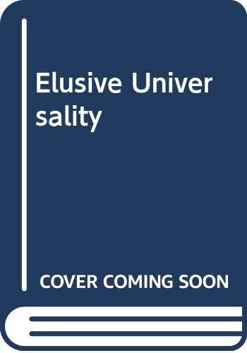 9780415228770: Elusive Universality