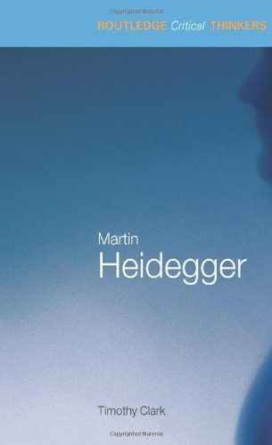 9780415229289: Martin Heidegger (Routledge Critical Thinkers)