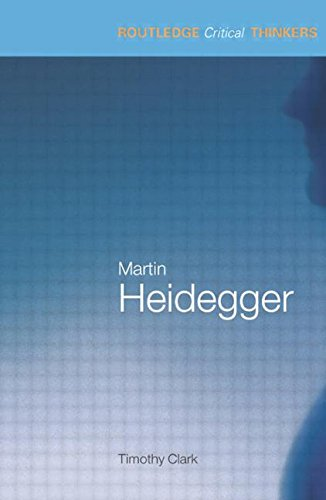 9780415229296: Martin Heidegger (Routledge Critical Thinkers)
