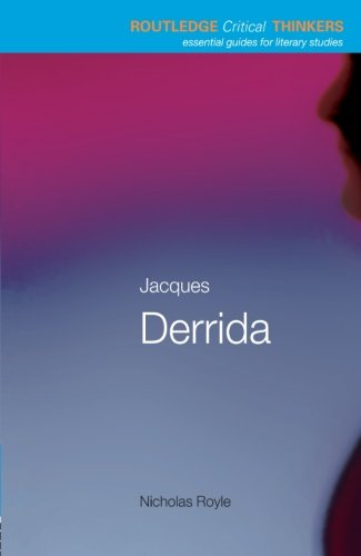 9780415229319: Jacques Derrida (Routledge Critical Thinkers)