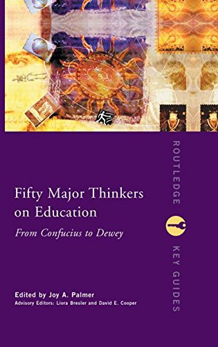 9780415231251: Fifty Major Thinkers on Education: From Confucius to Dewey (Routledge Key Guides)