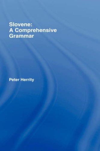 9780415231473: Slovene: A Comprehensive Grammar (Routledge Comprehensive Grammars)