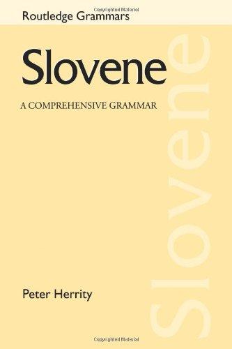 9780415231480: Slovene: A Comprehensive Grammar (Routledge Comprehensive Grammars)