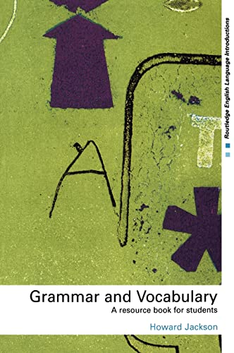 9780415231701: Grammar and Vocabulary: A Resource Book for Students