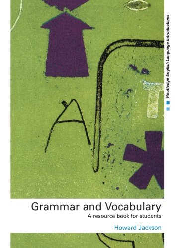 9780415231718: Grammar and Vocabulary: A Resource Book for Students