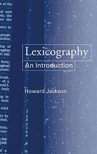 9780415231725: Lexicography: An Introduction