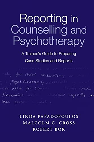 9780415231947: Reporting in Counselling and Psychotherapy