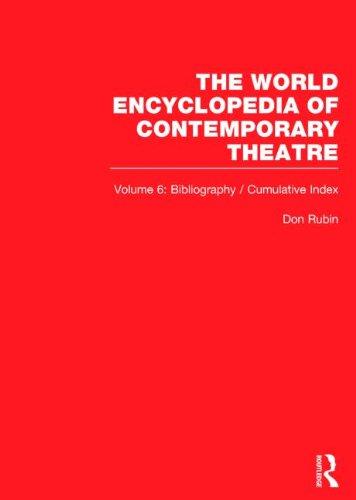 9780415232050: World Ency Cont Theatre V1-6