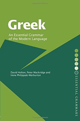 9780415232104: Greek: An Essential Grammar of the Modern Language (Routledge Essential Grammars)