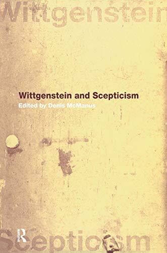 9780415232913: Wittgenstein and Scepticism