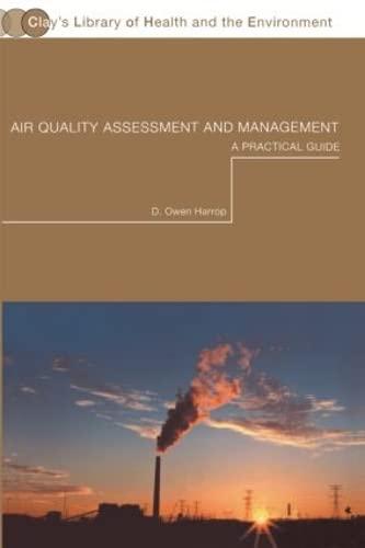 Air Quality Assessment and Management: Harrop, D. Owen
