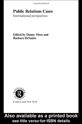 9780415234269: Public Relations Cases and Readings: International Perspectives