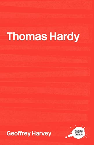 9780415234924: Thomas Hardy (Routledge Guides to Literature)