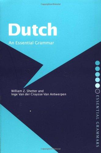 9780415235020: Dutch: An Essential Grammar (Routledge Essential Grammars)