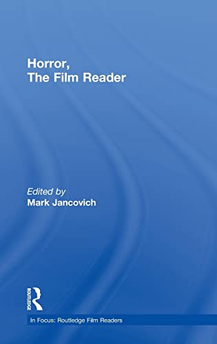 9780415235617: Horror, The Film Reader (In Focus: Routledge Film Readers)