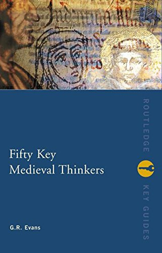 9780415236621: Fifty Key Medieval Thinkers (Routledge Key Guides)