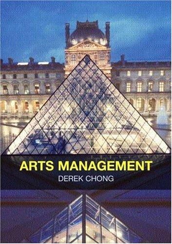 Arts Management: Chong, Derrick
