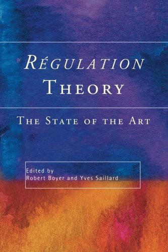 9780415237222: Regulation Theory: The State of the Art