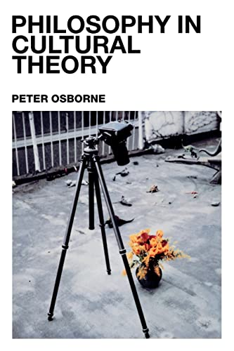 9780415238021: Philosophy in Cultural Theory