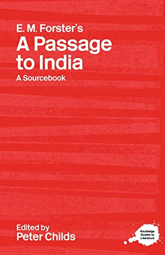 9780415238236: E.M. Forster's A Passage to India: A Routledge Study Guide and Sourcebook (Routledge Guides to Literature)