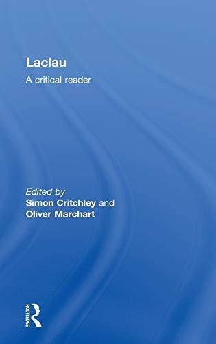 9780415238434: Laclau: A Critical Reader