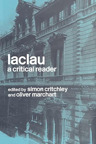 9780415238441: Laclau: A Critical Reader