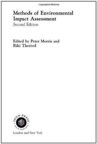 9780415239592: Methods of Environmental Impact Assessment
